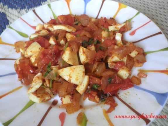 Egg white thoran - Spicy Kitchen