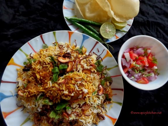Malabar Chicken Dum Biryani | how to make chicken dum biriyani