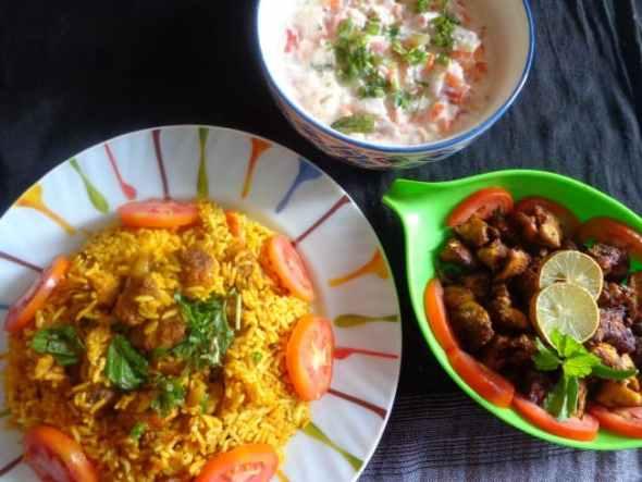 soya-chunks-biriyani-recipe