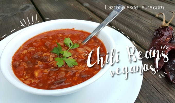 Vegan Chili Beans | Las Recetas de Laura
