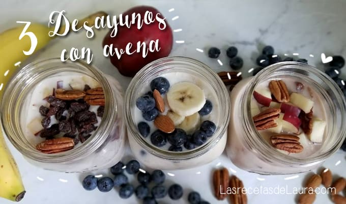 3 healthy oatmeal breakfast - Spicy Latina Mom