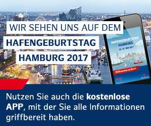 Hamburger Hafengeburtstag 2017 Banner