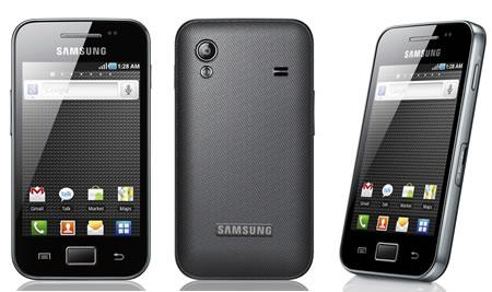 Samsung Galaxy Ace S5830i Best 5 Budget Samsung Android Smartphones Under Price of R.s 10000 for 2013