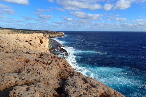die wunderschöne Küstenlinie am westlichsten Punkt Australiens
