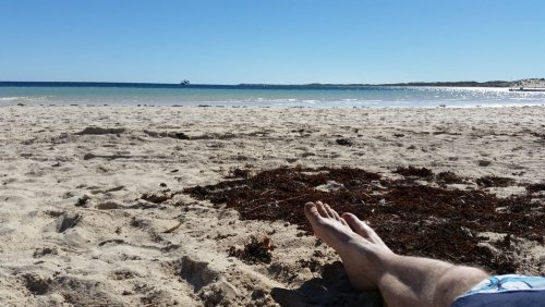 Entspannen am Coral Bay