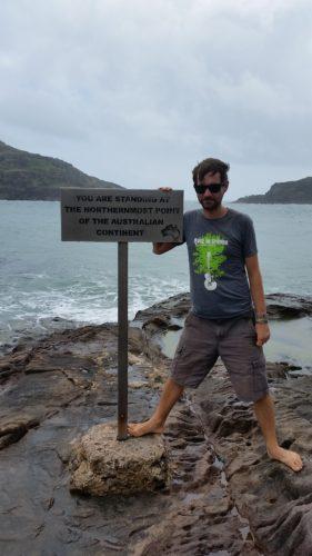 ich am nördlichsten Punkt Australiens