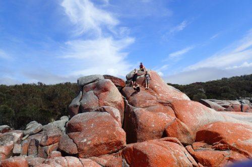 unsere kleine Reisegruppe in Tasmanien