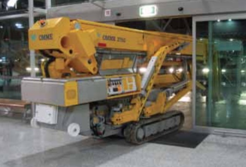 rent a knuckle boom lift machine