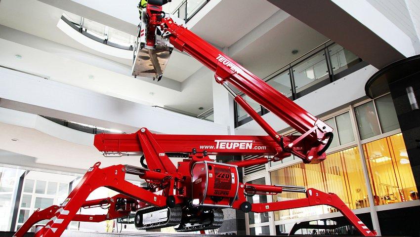 21m spiderlift