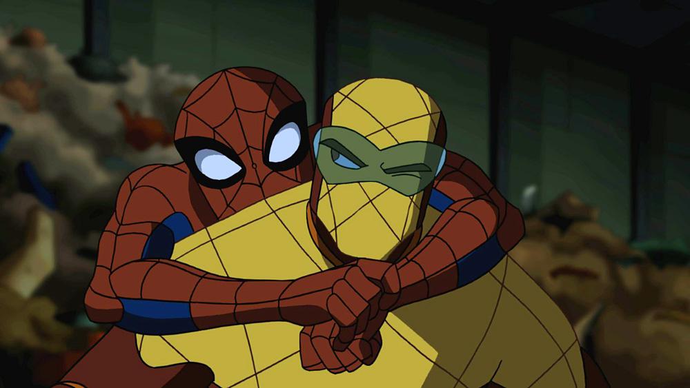 Image result for spider-man shocker tv show gif