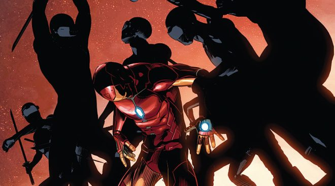 "Invincible Iron Man #8 ""Mary Jane/Spider-Man"" Centric Review"