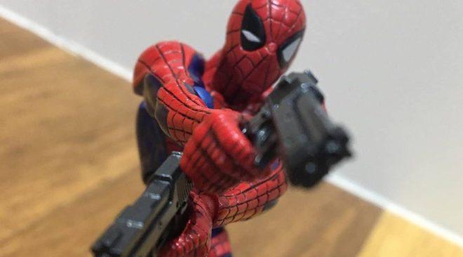 Amazing Yamaguchi Revoltech No.002 Spider-man Review