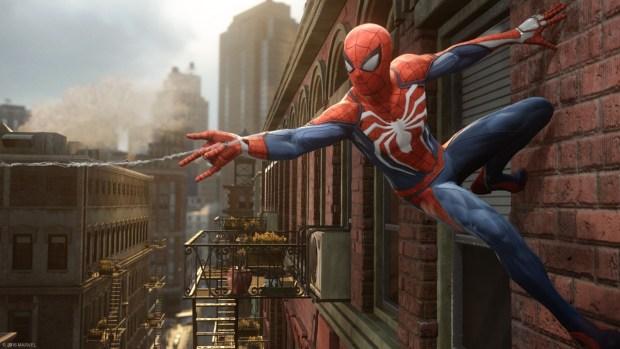 spiderman ps4 screenshot