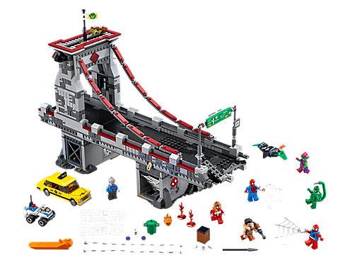 Web Warriors Ultimate Bridge Battle Spider-Man LEGO set