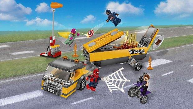 Tanker Truck Takedown Spider-Man LEGO set