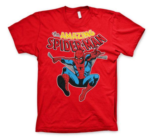 Amazing Spider-Man T-Shirt (Red)