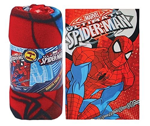 Ultimate Spider-Man Fleece Throw