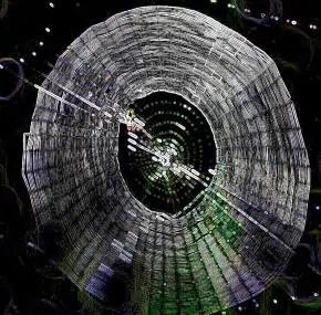 orb shaped large web