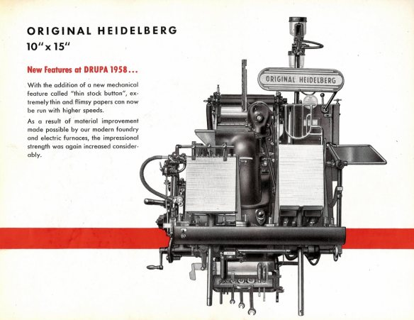 "The Heidelberg 10x15"""