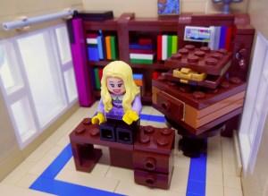 I video di BookBlister sono girati per lo più in uno studio, con lo sfondo di una libreria.