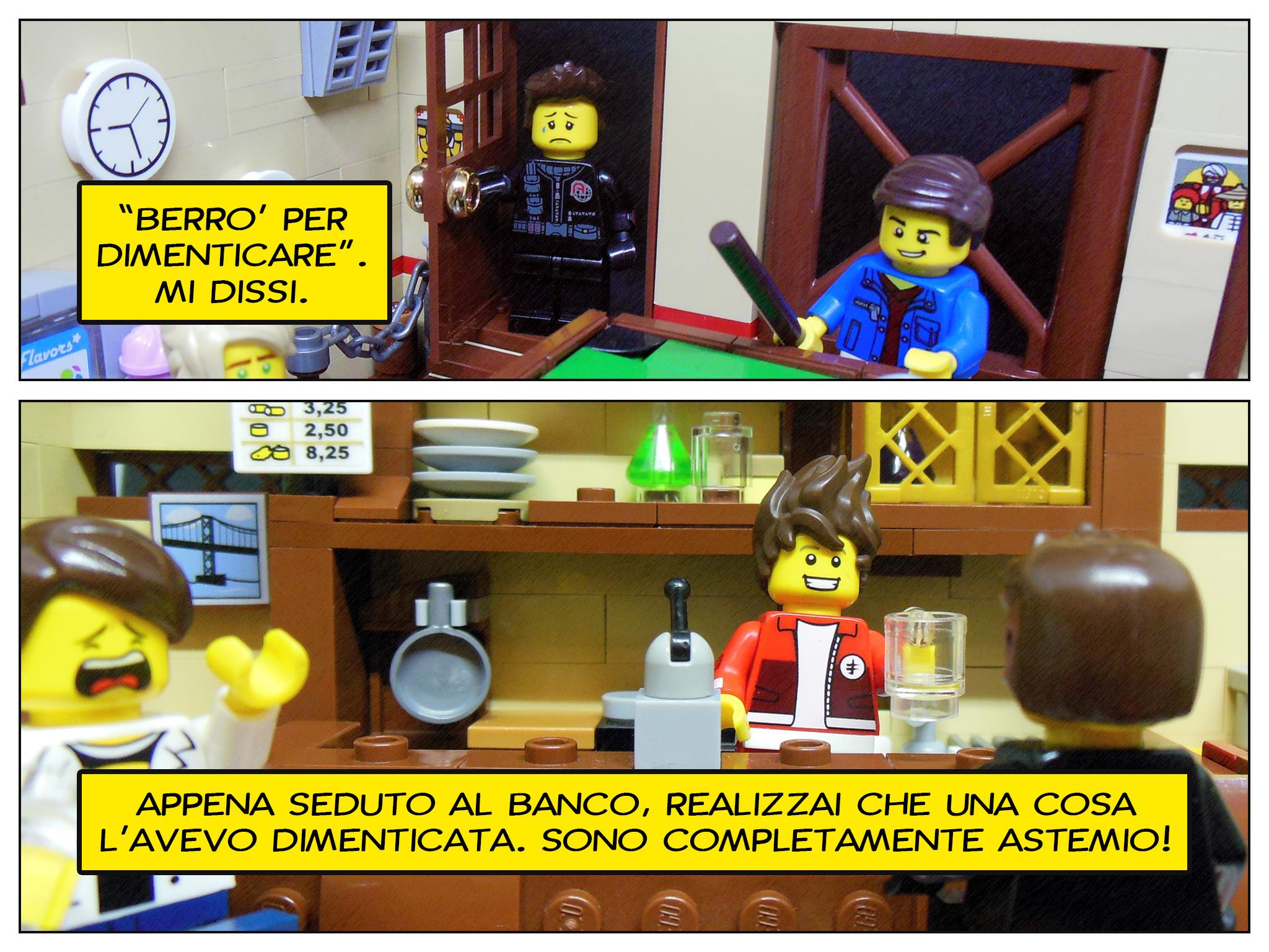 Faccio quello che voglio, il prequel a Lego fumetti - stop. dimentica