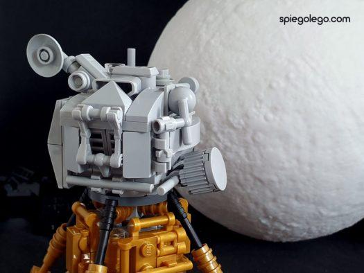Dettaglio del modulo di ascesa del LEM di Apollo11