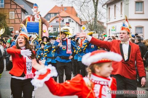 Karneval in Lauenberg 2014
