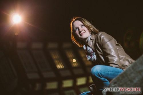 Porträt-Shooting bei Nacht mit Lena