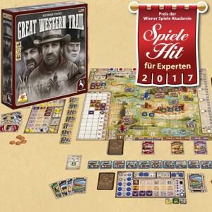 Spiele Hit für Experten - Great Western Trail