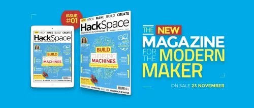 The front cover of HackSpace magazine issue 1
