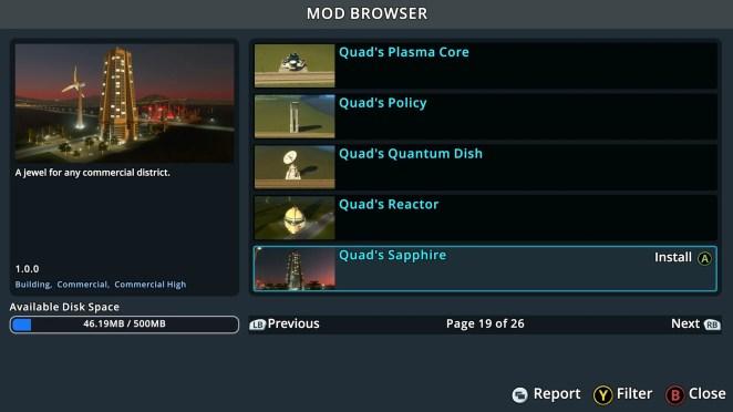 Cities Skylines - Xbox One Edition Screenshot