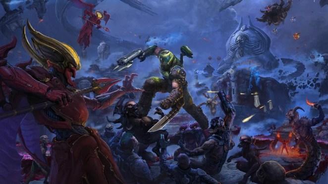 Doom Eternal DLC Key Art