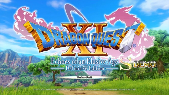 Dragon Quest XIS Demo