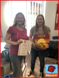 "Spieleliga ""Catan"" - 2. Platz: Gudrun Winter"