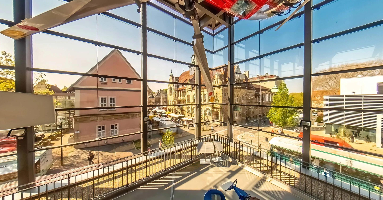 360°-Aufnahmen für das Hubschraubermuseum in Bückeburg