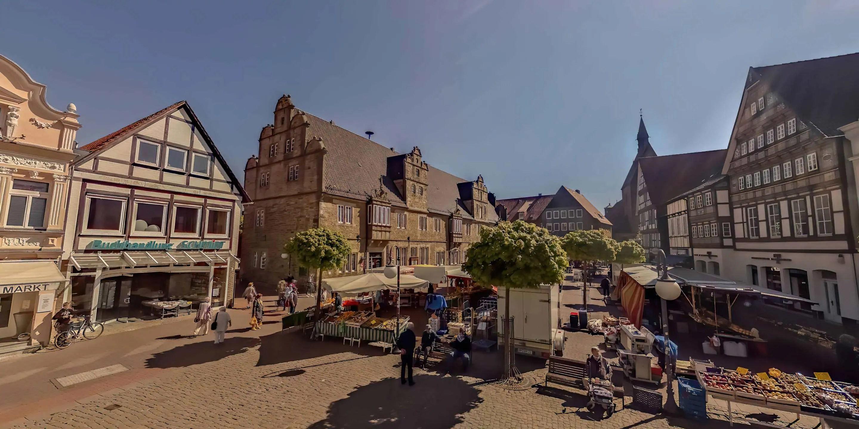 Virtueller Stadtrundgang für Stadthagen
