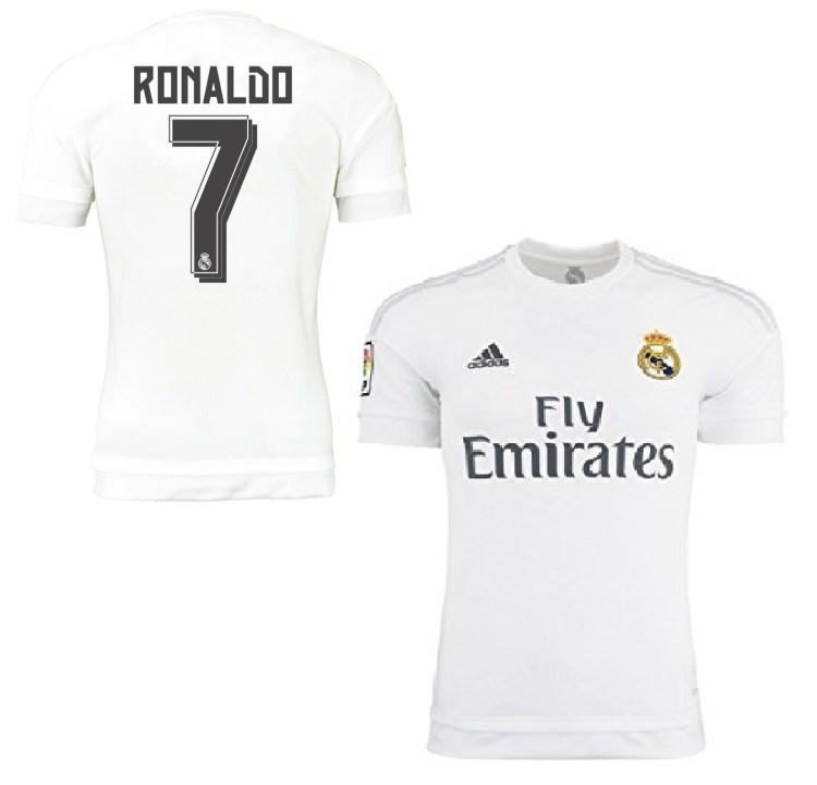 Adidas Real Madrid jersey 7 Cristiano Ronaldo 2015/16 ...
