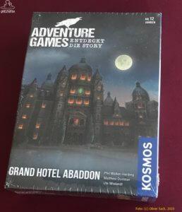 Grand Hotel Abaddon - Adventure Games