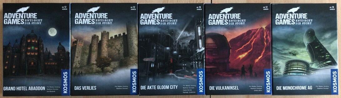 Adventure Games Reihenfolge 4-21