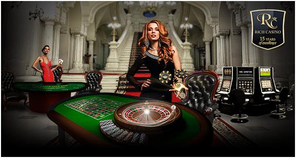 Deutsche Spieler können eine Einzahlung in echten Euro tätigen, um im Rich Casino zu spielen
