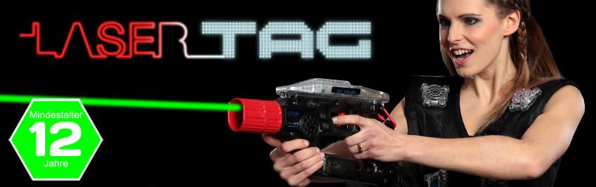 Lasertag spielen in Berlin
