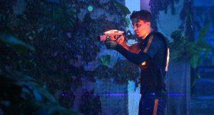 Hertha BSC bei Lasergame Berlin