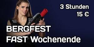 Lasertag Bergfest 3 Stunden