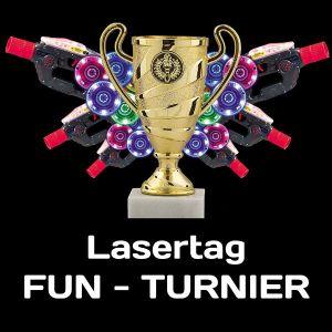 Lasertag Turnier Pokal
