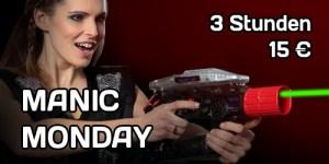 Manic Monday Lasertag Flatrate