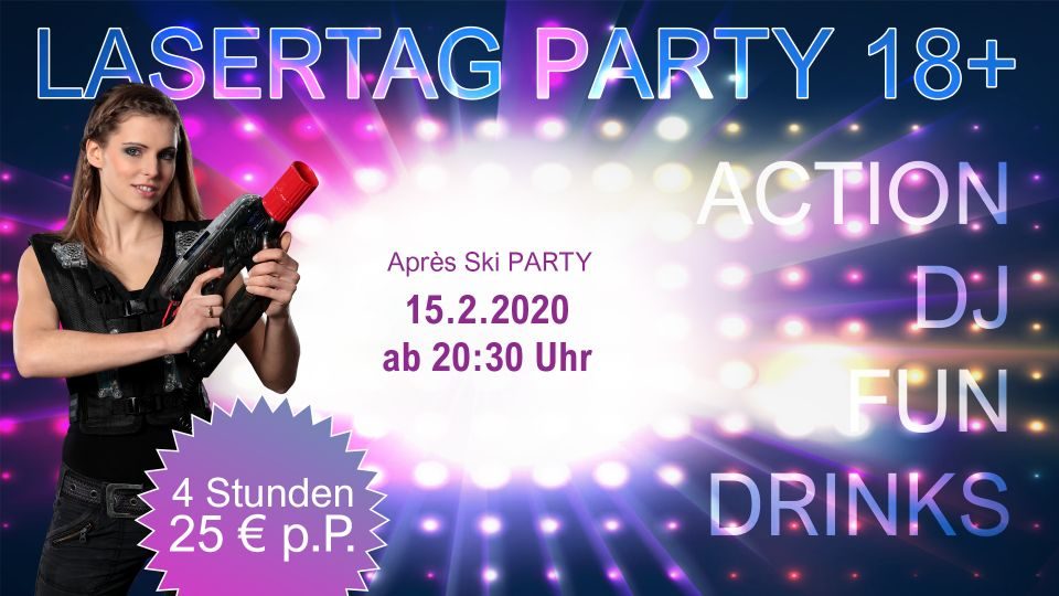 Lasertag Party Berlin Februar