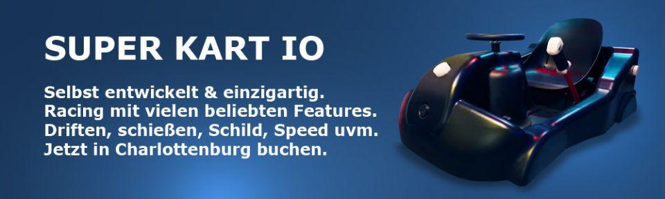 Lasergame Berlin Super Kart IO