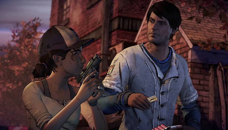 he Walking Dead: The Telltale Series - A New Frontier