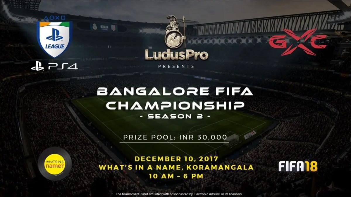 LudusPro Bangalore FIFA Championship Season 2