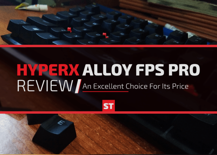 HyperX Alloy FPS Pro Keyboard Review - Spiel Times